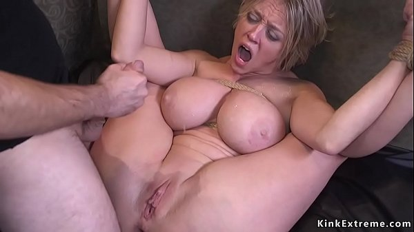 Dude fucks monster tits Milf bdsm
