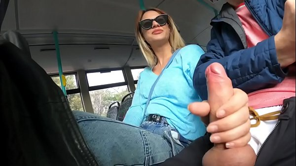 Handjob a Stranger in London Public Bus before work Ella Bolt