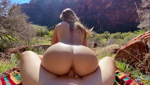 Perfect Body Hiker Fucked Hard in Nature – Molly Pills – Outdoor Public POV HD