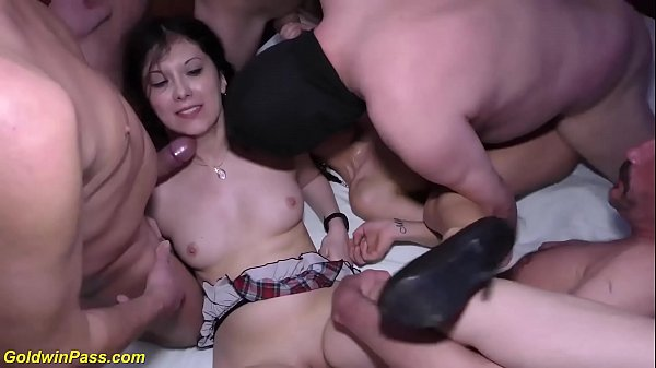 wild groupsex party with hot chicks