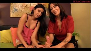 your aunt will help you focus and relax – Footjob POV