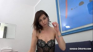 MY STEP MOTHER IS A COCK SLUT! (REAL FOOTAGE from Italy) – SESSO-24ORE.com